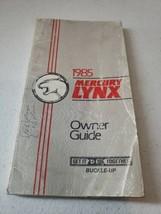 1985 Mercury Lynx  Car Original Owner's Guide/Manual - $37.49