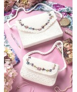 Fashion Purses Plastic Canvas PATTERN/INSTRUCTIONS Mother/Daughter - $1.77