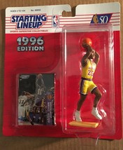 EDDIE JONES 1996 Starting Lineup New In Package NM/M LA LAKERS NBA BASKE... - $11.69