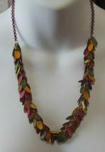 Imagio Multi Color Patina Drop Earring Necklace & Earring Set - $19.79