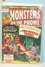 Monsters on the Prowl  Oct. 26 1973 Two-Headed Thing Kirby Art Marvel Comics VG+ - $9.99