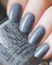 OPI 50 Shades of Grey EMBRACE THE GRAY Dusty Gray Creme Nail Polish Lacq... - $12.84