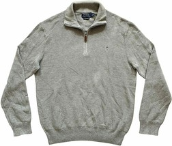 Polo Ralph Lauren Men's Textured 1/2 Zip Pima Cotton Mock Neck Pullover ... - $86.95