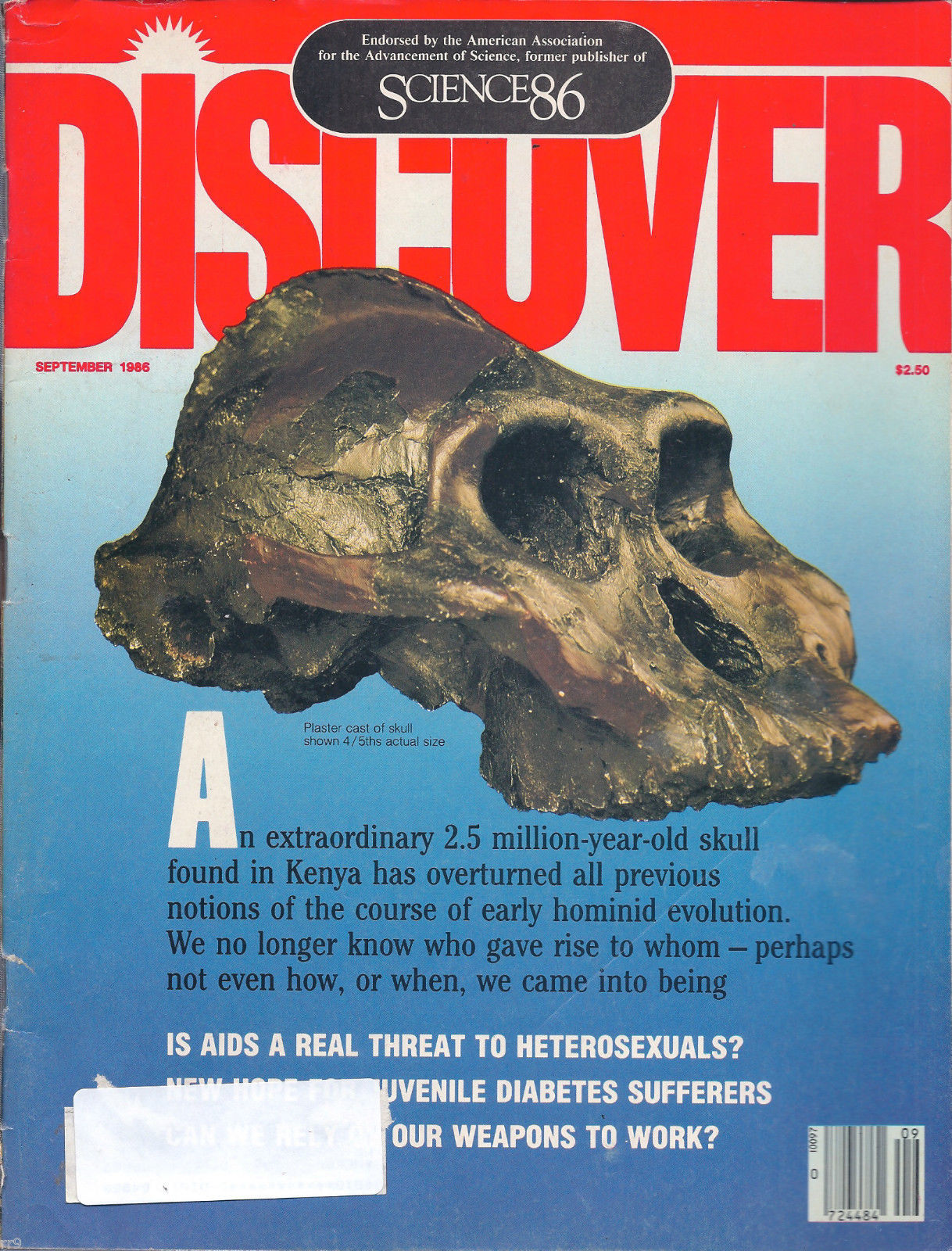 Primary image for Discover The Newsmagazine of Science September 1986