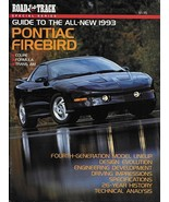 Road & Track GUIDE to the PONTIAC FIREBIRD magazine 1993 Formula Trans Am - $8.00