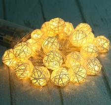(10 LED white warm)10 LED Battery Operated Heart Shaped Christmas String... - $20.00