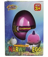 Grow an Narwhal - Narwhal Egg Hatching Pet, Just Add Water (Pink) - $3.46