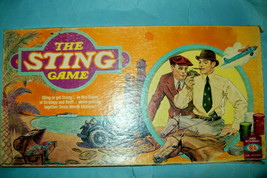 """Vintage 1976 """"The Sting"""" Movie Board Game by Ideal   Complete - $33.08"""