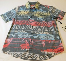Billabong Boys Youth Short Sleeve Button Up Shirt Size S small Sundays F... - $64.34