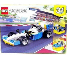 Lego Creator 3 In 1, Extreme Engines Series 31072 Race Car Set, High Quality - $28.11