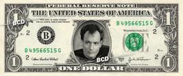 Q on a REAL Dollar Bill Star Trek TNG Cash Money Collectible Memorabilia - $7.77