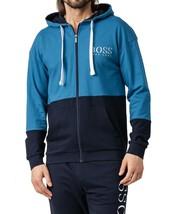 Hugo Boss Men's Athletic Sport TrackSuit Hooded Sweatshirt Jacket & Pants Set image 2