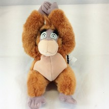 "Disney Store Jungle Book King Louie Plush with Hugging Hands Stuffed Toy 9"" - $12.82"