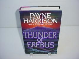 Thunder of Erebus by Payne Harrison (1991, Hardcover) Novel Book - $5.84
