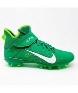 Nike Alpha Menace Pro 2 Green Mens Football Cleats AQ3209 300 - $54.95