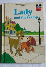 Walt Disney Productions Presents Lady and the Tramp  Hardcover Book 1981 - $8.59