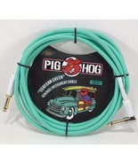 "Pig Hog - PCH10SGR - 1/4"" Straight to 1/4"" Right-Angle Seafoam Instrumen... - $19.75"