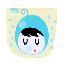 2 Lovely Blueberry Baby Cotton Gauze Towel Wipe Sweat Absorbent Cloth Mat Towels image 2