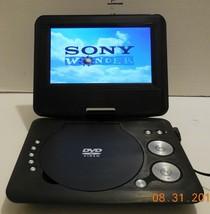 """Onn 7"""" Swivel Portable DVD Player fwith Headphones 4-HR Battery ONA16AV008 - $64.35"""