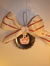 Minnie and Mickey Christmas ornaments set of 2 IN STOCK - $10.00