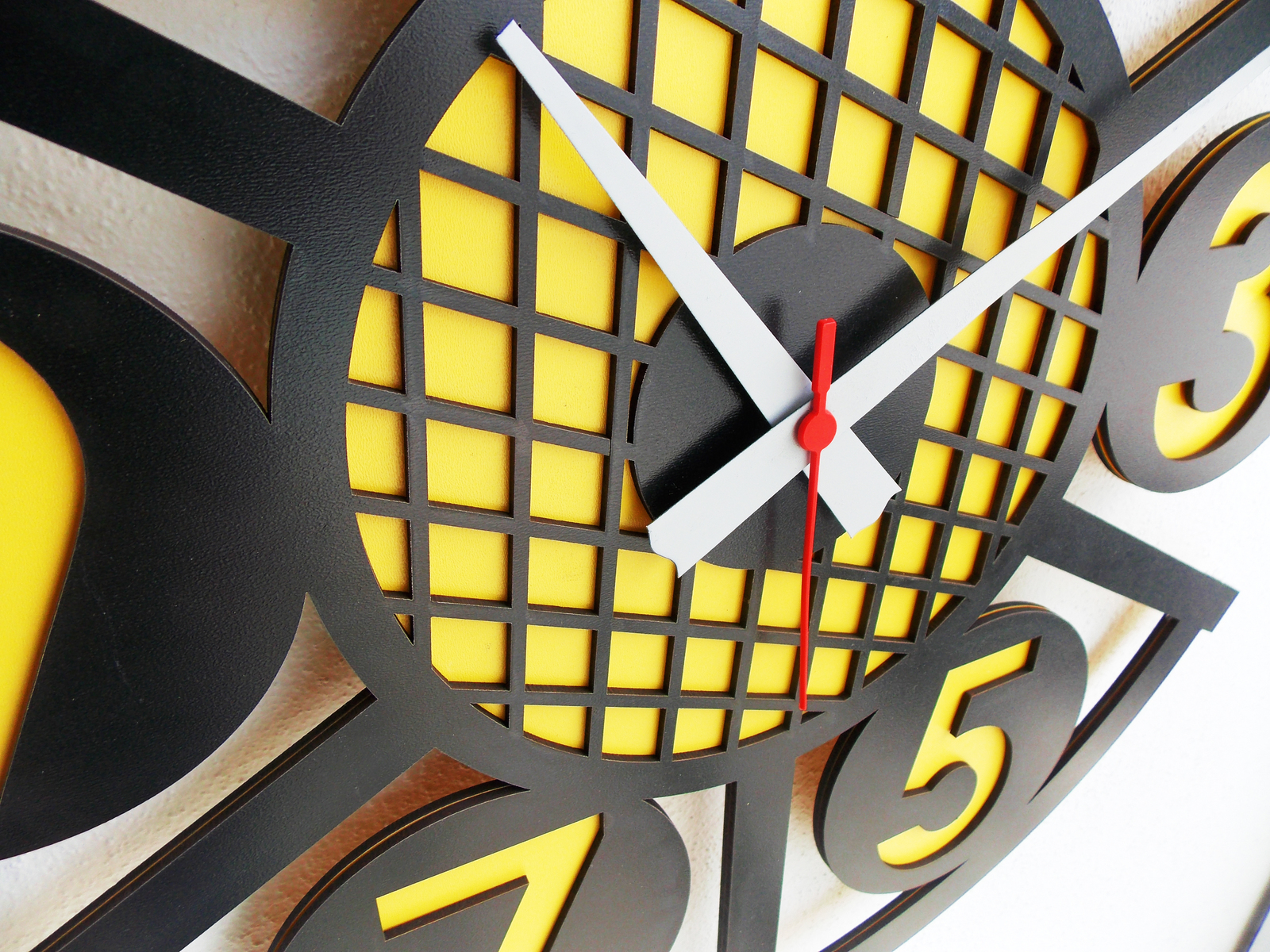 Large Wall Clock,Modern Wall Clock,Wooden Wall Clock,Decorative Clock