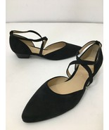 ara Womens Poppy Black Suede Mary Jane Heels Size 7 - $88.11