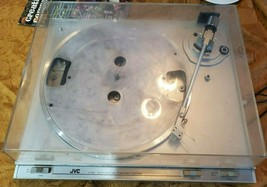 JVC L-A21 turntable turns on *parts or repair - $49.49