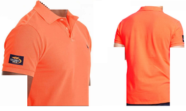 Men's Polo Ralph Lauren US Open Custom-Fit Cotton Polo Orange, Size XL - $49.49