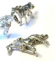 HORSE FINE PEWTER  FIGURINE - Approx. 7/8 inch tall   (T174) image 3