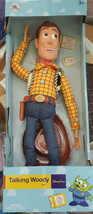 "Disney Parks Toy Story 4 Talking Woody Doll New In Box WDW 16"" - $29.69"