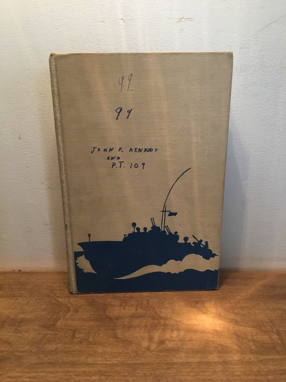 Landmark Books JFK John F Kennedy and PT-109 edition 1962 by Richard Tregaskis