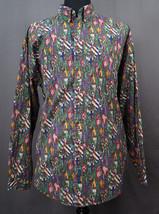 Tommy Hilfiger Shields & Vines Pattern Long Sleeve Button Down Shirt XL - $29.95
