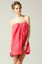 $308 BCBG Maxazria Corozo Silk Textured Brocade Bow Front Strapless Dress - $71.99