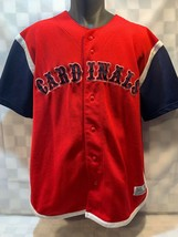 St Louis CARDINALS Baseball MLB True Fan Jersey Men's Size L - $24.74