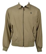 Polo Ralph Lauren Mens Beige Bi-Swing Windbreaker Jacket Coat X-Large XL... - $197.99