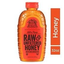 Nature Nate's 100% Pure Raw & Unfiltered Honey; 32-oz. Squeeze Bottle; Certified - $15.08