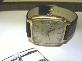 CLASSIC VINTAGE WATCH quartz RENE Pavot 1980's running - $158.40