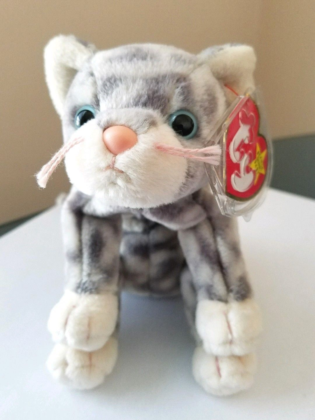 b92a395e1fa Lot Of 3 Ty Beanie Babies Cats Amber