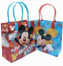 Mickey Mouse Have Fun Birthday Party Favors Plastic Goodie Gift Bags 12 ... - $11.88