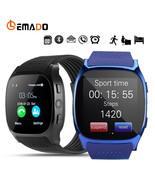 Lemado T8 Bluetooth Smart Watch With Camera Facebook Whatsapp Support SI... - $17.09