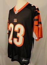 Chris Perry #23 Cincinatti Bengals NFL Jersey Mens XL Reebok Authentic Black - $24.50