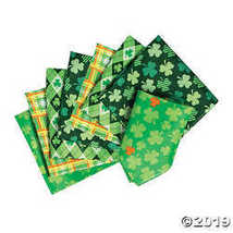 St. Patrick's Day Bandanas - $12.49