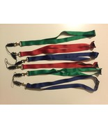 Lanyard Strap Badge ID Running Cell Holder Detachable Keychain Clip~LOT ... - $14.84