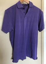 RALPH LAUREN Purple Label Solid Purple Polo Shirt Sz Small - Ex Condition - $33.24