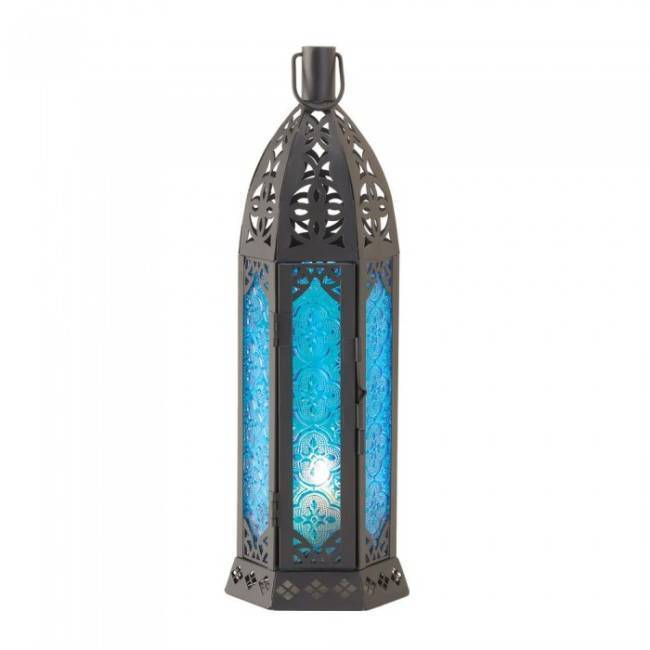 15245 Gallery of Light Tall Floret Candle Lantern