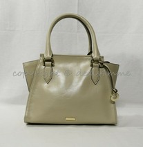 NWT Brahmin Mini Priscilla Smooth Leather Satchel/Shoulder Bag in Sand Topsail image 2