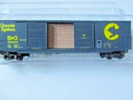 Micro-Trains #18200070 Baltimore & Ohio 50' Standard Boxcar N-Scale image 1