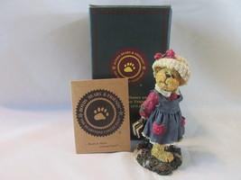 Boyds Bears Figurine Bailey...Off to School Bearstone Collection, 2003, ... - $14.99