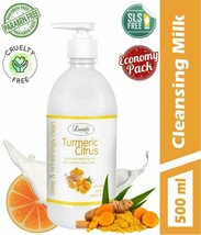 Luster Turmeric Citrus Cleansing Milk (Paraben & Sulfate Free)-500 ml - $29.69