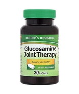 Glucosamine Joint Health Therapy Dietary Supplement 20 Tablets 500 mg Lo... - $4.64